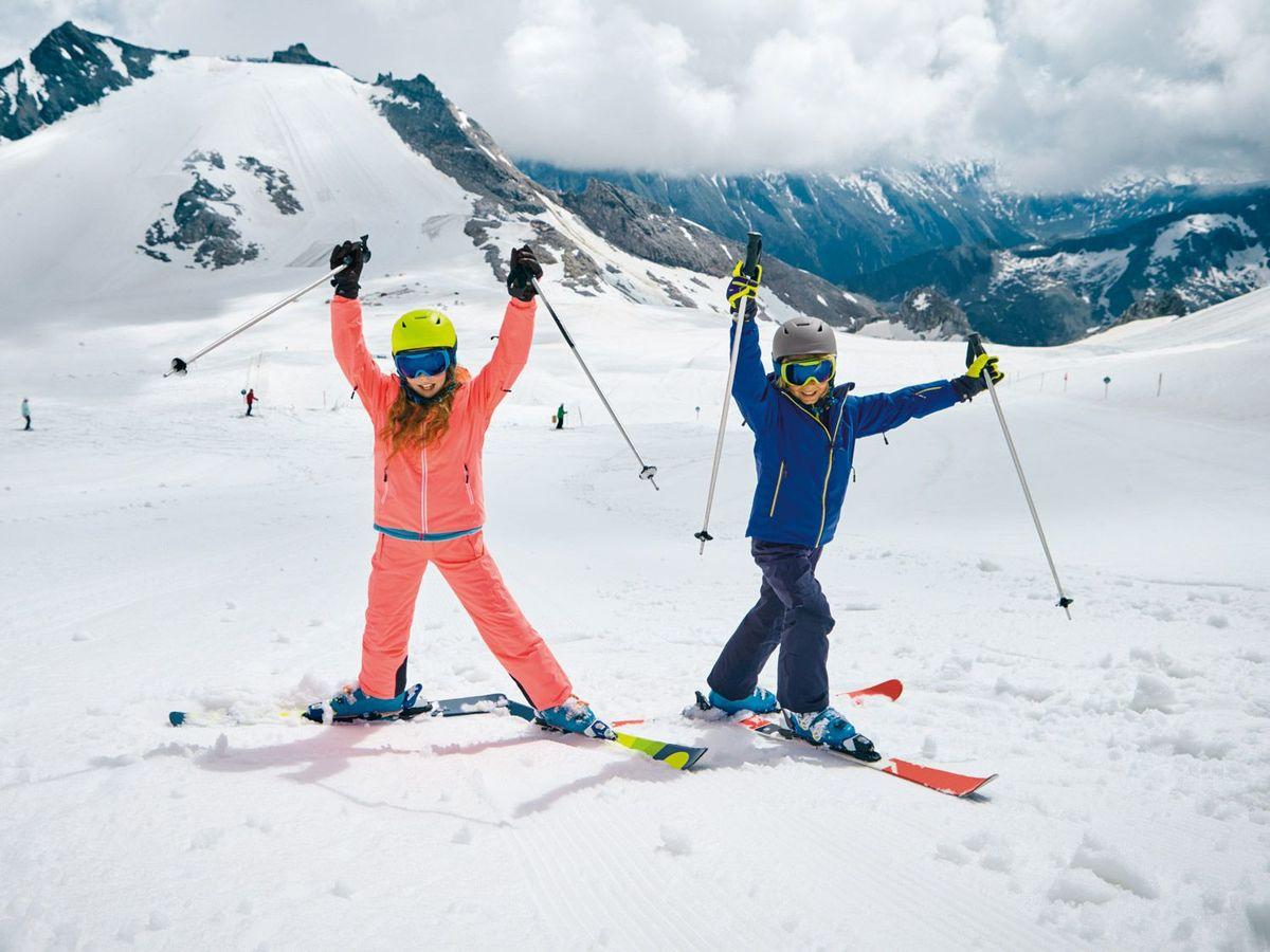 Bild 5 von CRIVIT®PRO Kinder Mädchen Skihandschuhe