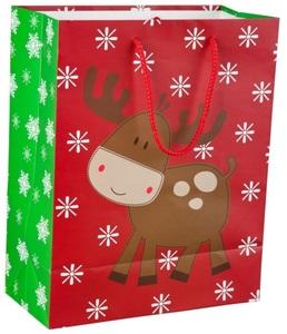 Geschenktasche - Rentier -