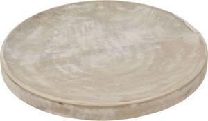 Dekoplatte - rund - 30 x 3 cm