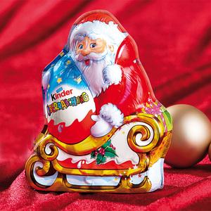 kinder Überraschung Weihnachtsmann