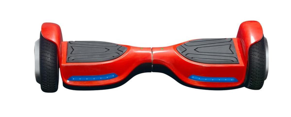 Bild 2 von Denver DBO-6520 Hoverboard 6,5 Zoll, Farbe Rot, DBO-6520REDMK2