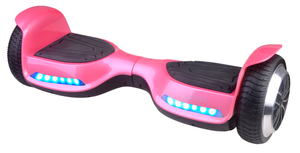 Denver Electronics DBO-6520PINK MK2, 15 km/h, 15 km, Pink, 80 kg, 16,5 cm, Acrylnitril-Butadien-Styrol (ABS), 115101100223