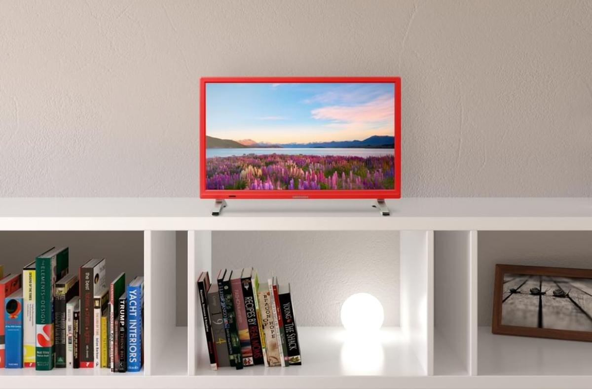 Bild 4 von Medion Full HD LED 55cm (21,5 Zoll) P13500, HD Triple Tuner, Rot