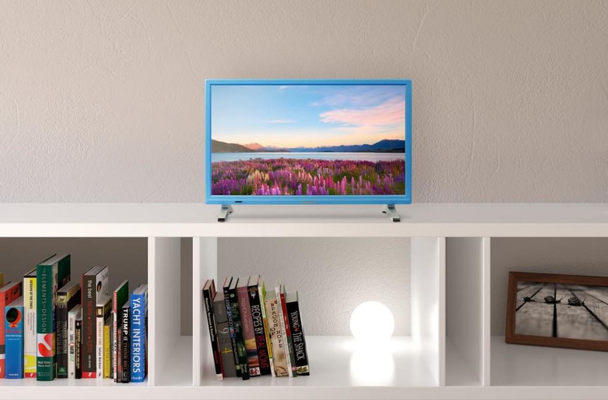 Bild 2 von Medion Full HD LED 55cm (21,5 Zoll) P13500, HD Triple Tuner, Blau