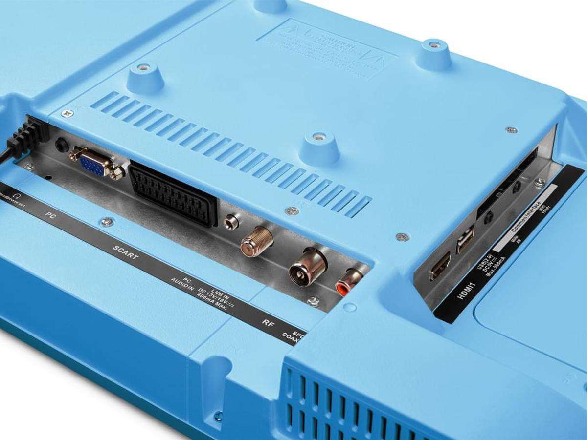 Bild 4 von Medion Full HD LED 55cm (21,5 Zoll) P13500, HD Triple Tuner, Blau