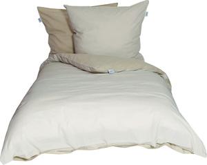 Schöner Wohnen Bettwäsche, Pina-B, 135x200cm, 2-farbig, beige