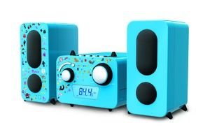 bigben Stereo Music Center MCD11 - Kids - Farbe: Blau; AU347975