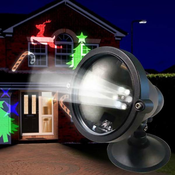 Led Weihnachtsbeleuchtung Mit Fernbedienung.Laser Projektor Weihnachten Mit Fernbedienung Und Timer