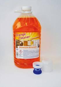 Orangenreiniger Konzentrat XXL Set, 5 Liter + GRATIS 10 Mikrofasertücher
