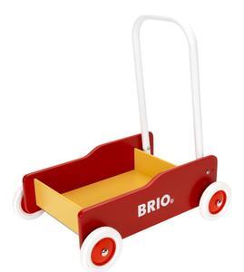 BRIO Lauflernwagen rot-gelb
