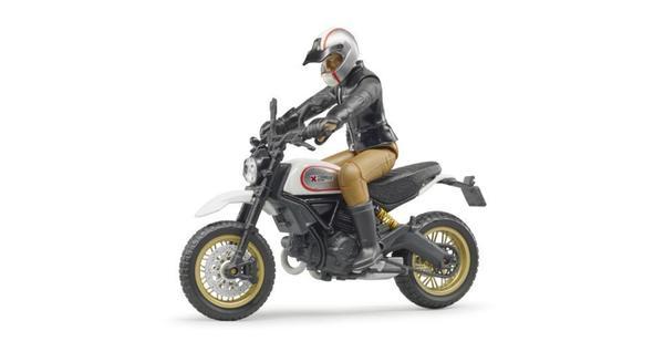 BRUDER 63051 Scrambler Ducati Desert Sled