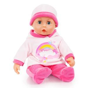 Babypuppe mit Funktion 38 cm