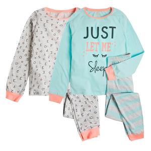 Schlafanzug 2er Pack für Mädchen