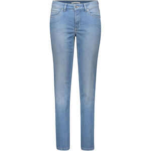 Mac Damen Jeans, Straight Leg, hellblau, 44/L30