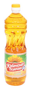"Nicht raffiniertes Sonnenblumenöl ""Kubanskaja semechka"", war..."