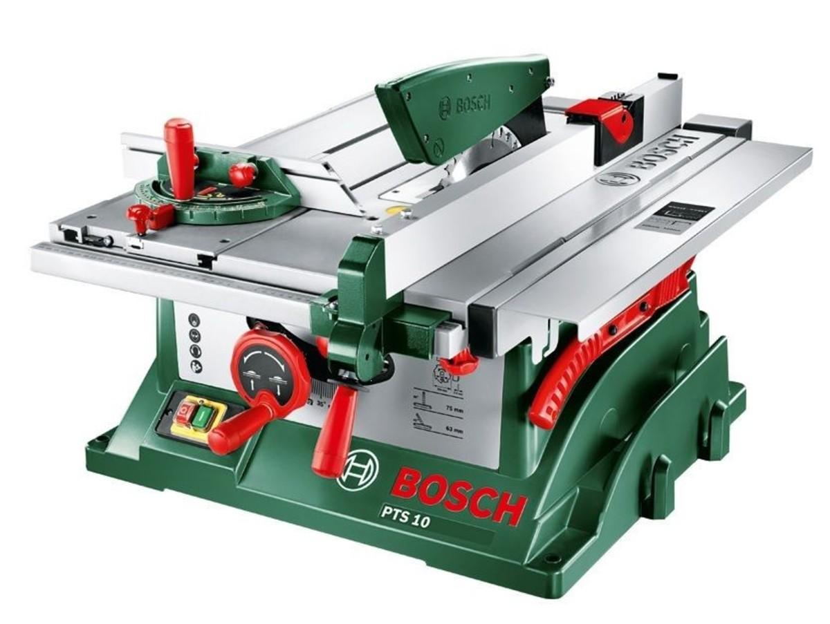 Bild 1 von Bosch Tischkreissäge PTS 10   B-Ware