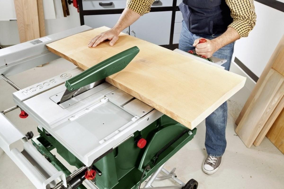 Bild 2 von Bosch Tischkreissäge PTS 10   B-Ware
