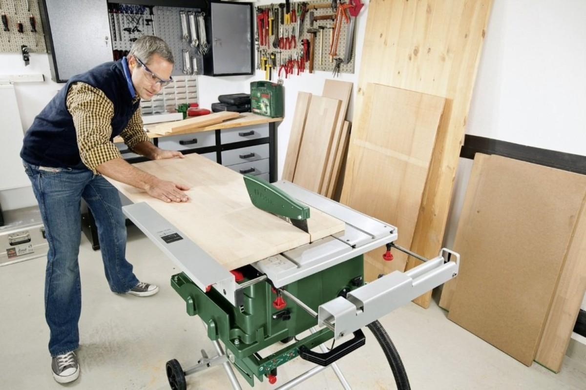 Bild 4 von Bosch Tischkreissäge PTS 10   B-Ware