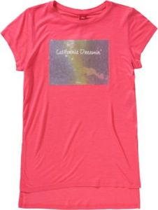 Langes T-Shirt mit Pailletten REG Gr. 176 Mädchen Kinder
