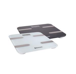 Körperanalysewaage mit Bluetooth, ca. 30x30x2,5cm