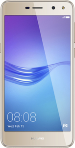 Huawei Y6 2017, 12,7 cm (5 Zoll), 2 GB, 16 GB, 13 MP, Android 6.0, Gold