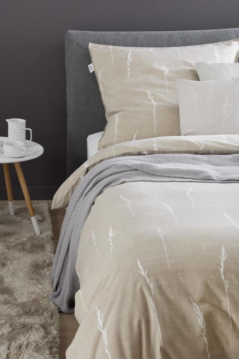 Bild 2 von Schöner Wohnen Bettwäsche, Gras-B, 135x200cm, beige
