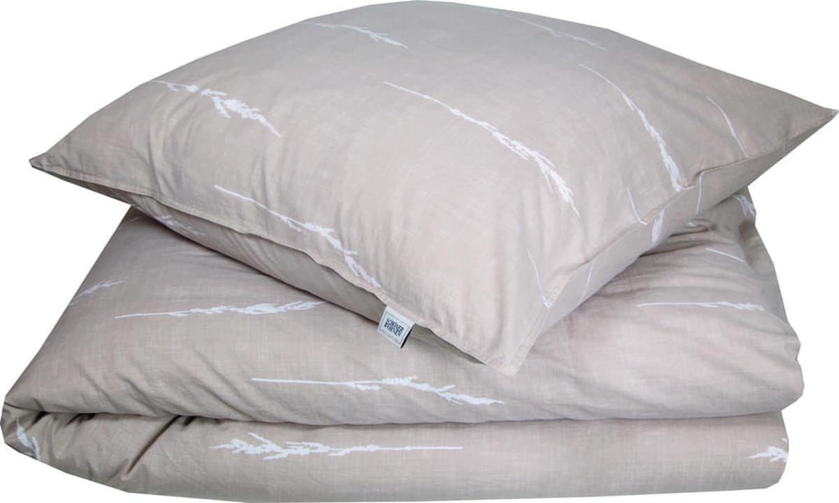 Bild 3 von Schöner Wohnen Bettwäsche, Gras-B, 135x200cm, beige