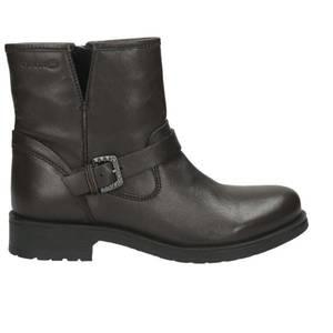 Damen Boot, dunkelbraun