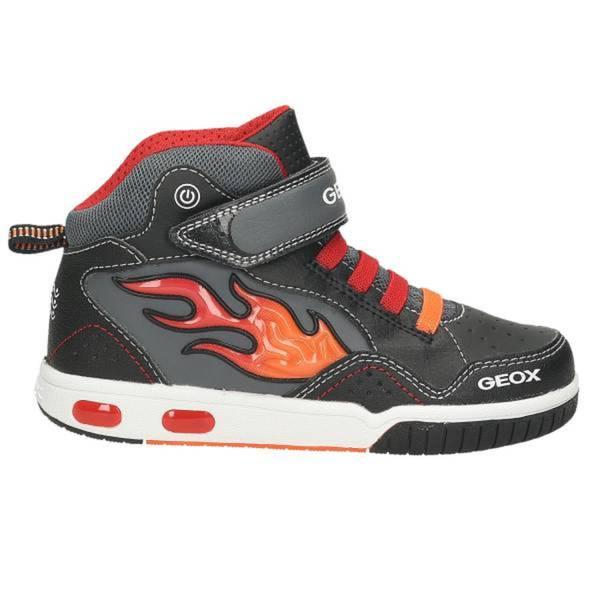 Kinder High Top Sneaker, schwarz - kombiniert
