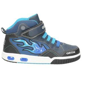 Kinder High Top Sneaker, dunkelblau