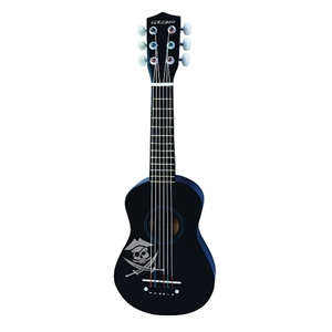 Play On - Holzgitarre Mini, Schwarz 53 cm