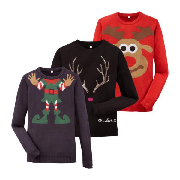 Weihnachtspullover Damen bei Aldi Süd ab 3.12.18 Angebote