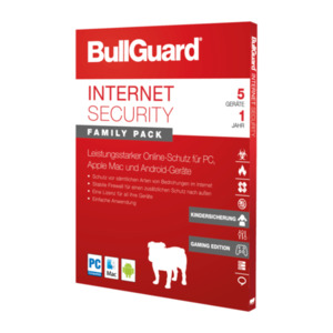 BullGuard Internet Security Family Pack