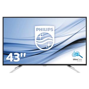 Philips BDM4350UC - 108 cm (43 Zoll), LED, IPS-Panel, 4K UHD-Auflösung, USB-Hub, 2x DisplayPort