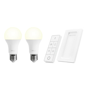 Trust Wireless Dimmable LED Bulbs & Remote Control Set ALED2-2709R