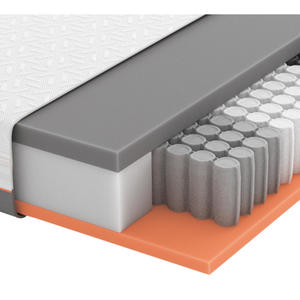 Schlaraffia GEL-TASCHENFEDERKERNMATRATZE Primus 290 TFK 90/200 cm 24 cm, Weiß