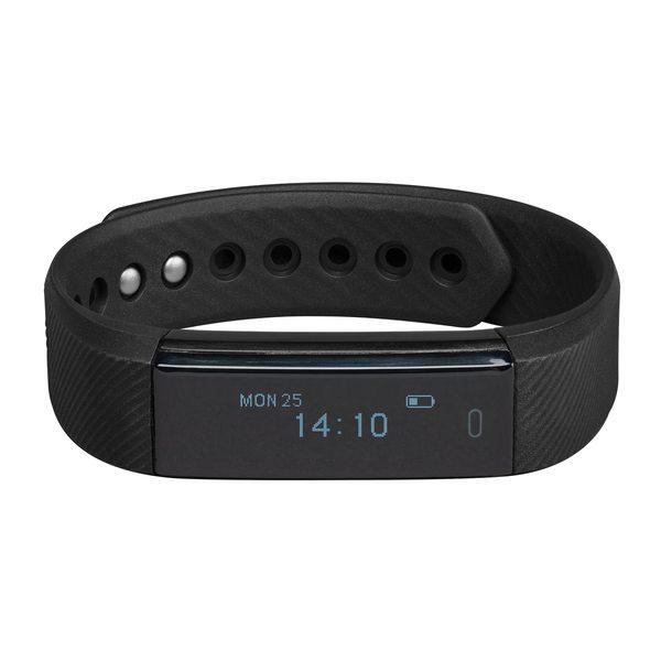 MEDION LIFE® E1500 Fitnessarmband mit OLED Display,Schrittzähler, Schlaftracking, flexibles Armband, wassergeschützt nach IP67