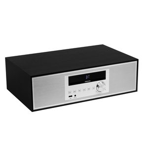 MEDION LIFE® P64301 2.0 All-in-One Audio System mit CD-Player, Bluetooth, PLL-UKW Stereo Radio, MP3 kompatibel, 2 x 15 Watt RMS