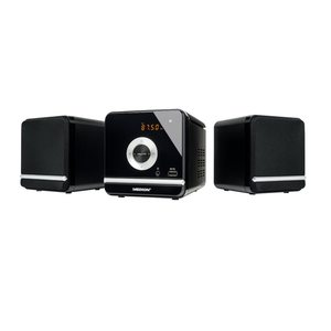 MEDION LIFE® P64102, Micro-Audio-System, PLL UKW-Stereo, UKW Radio, LED-Display, MP3-CD kompatibel, Wiedergabe von USB-Stick