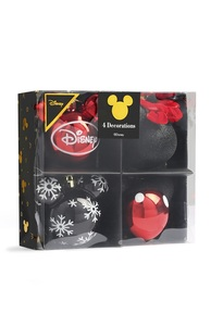 """Disney"" Baumkugeln, 4er-Pack"