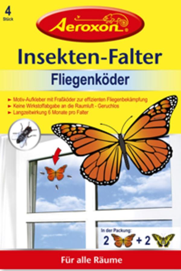 Aeroxon Insekten-Falter Fliegenköder 4 Stück
