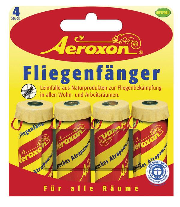 Aeroxon Fliegenfänger 4 Stück