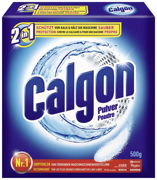 Calgon Wasserenthärter Pulver 2 in 1  500 g