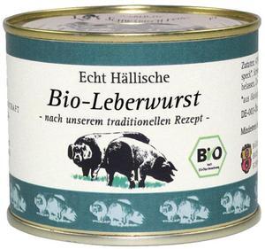 Echt Hällische Bio Leberwurst 200 g