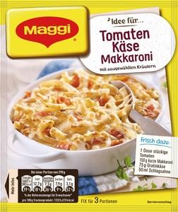 Maggi Idee für Tomaten-Käse Makkaroni 39 g