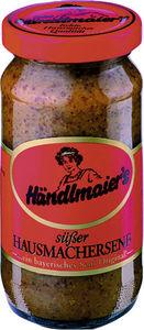 Händlmaier süßer Hausmachersenf im Glas klein 200 ml