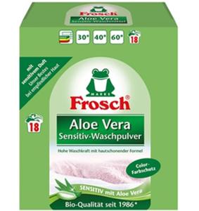 Frosch Aloe Vera Sensitiv-Waschpulver 1,35 kg 18 WL