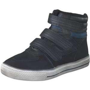 Leone Klett Boots Jungen schwarz