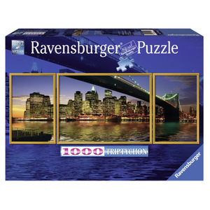 Ravensburger, Puzzle 1000 Teile, Motiv: Brooklyn Bridge