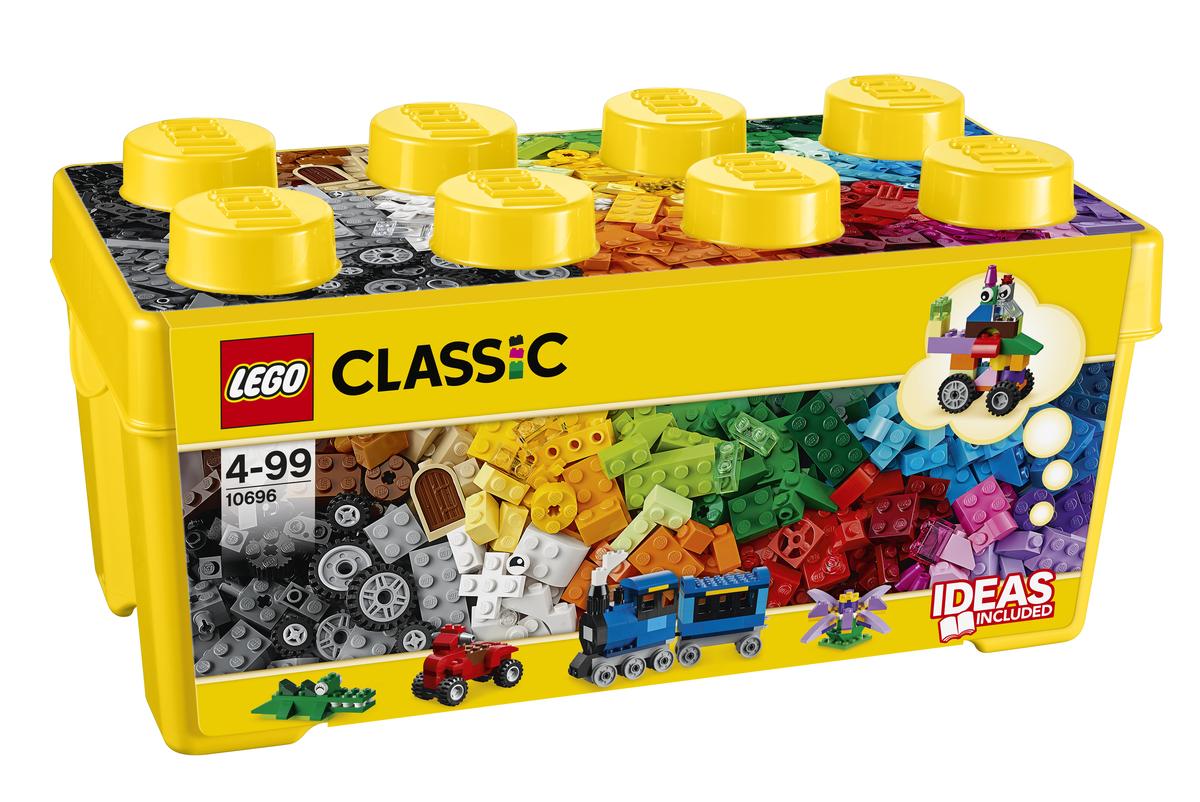 Bild 1 von LEGO® - Classic, Mittelgroße Bausteine-Box; 10696